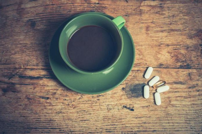 drug interactions with caffeine
