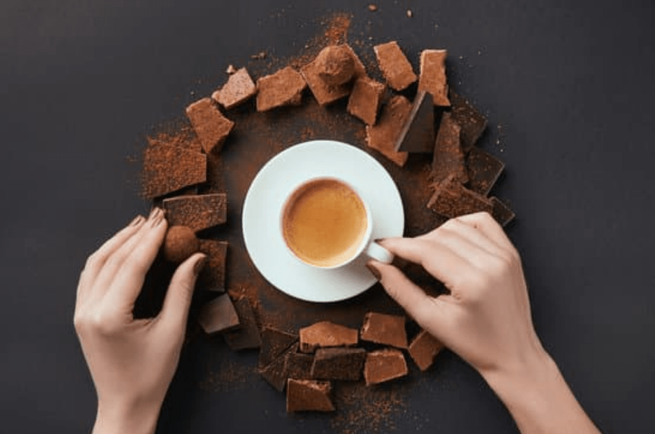 Caffeine In Dark Chocolate vs. In Caffeinated Drinks