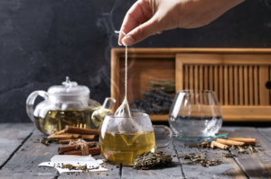 Nutrients within Oolong tea